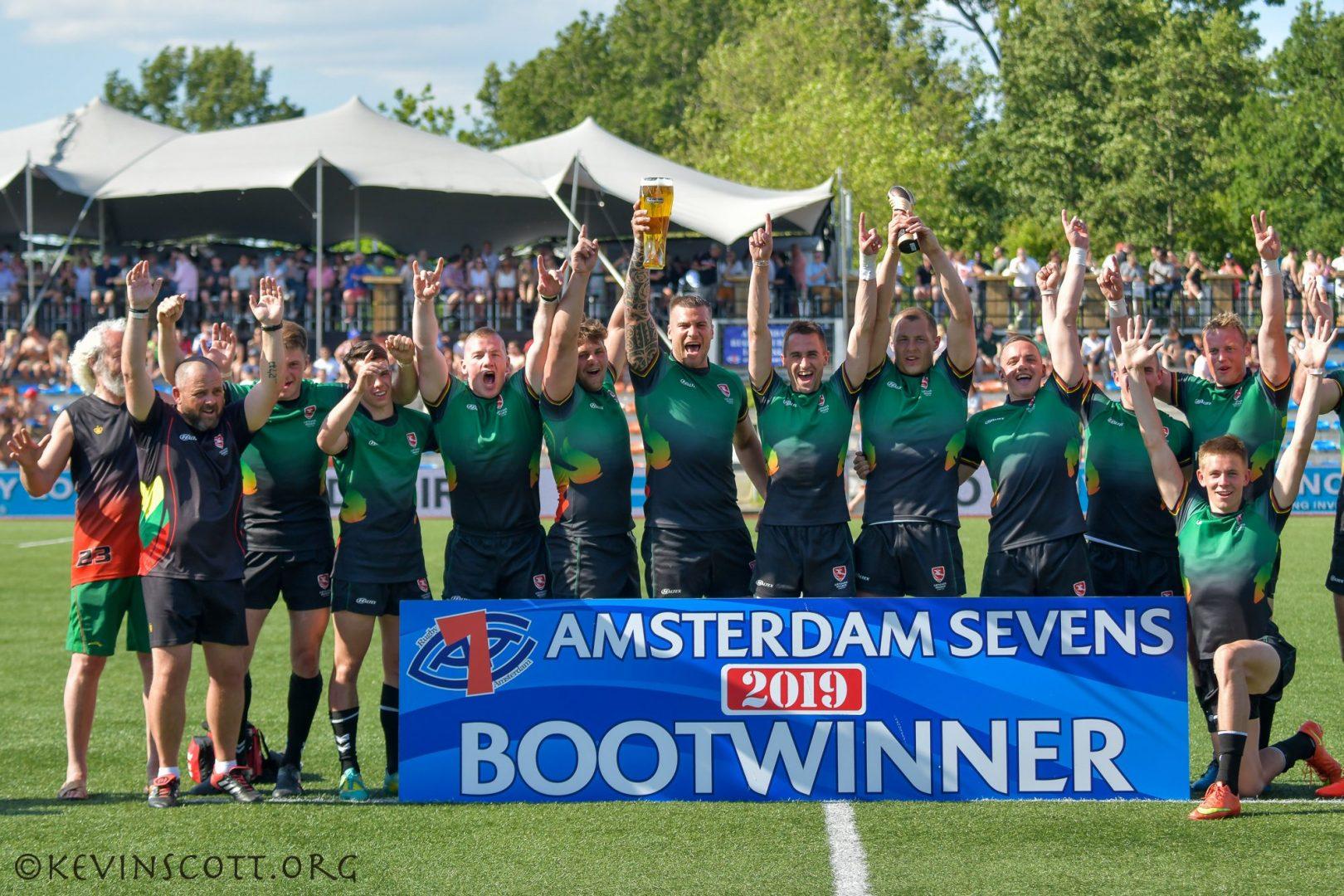 Winners Boot Amsterdam sevens 2019