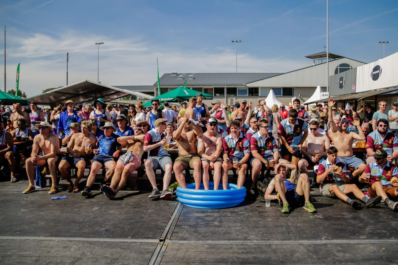 Amsterdam Rugby Sevens visitors